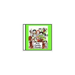 Fun Family Phonics - CD Stories & Songs