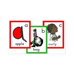 Fun Family Phonics - Wall Pictures