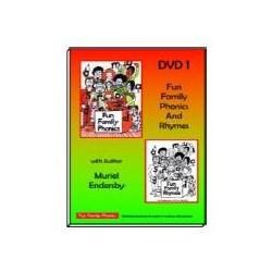 Fun Family Phonics - DVD (Phonics & Rhymes)