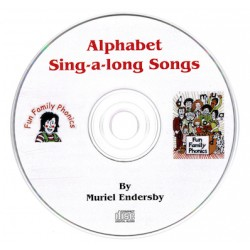 Fun Family Phonics - Book 1 CD Only (Alphabet Sing-A-Long Songs)