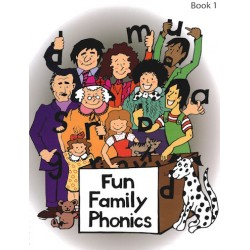 Fun Family Phonics - Book 1 with CD (Lower Case)